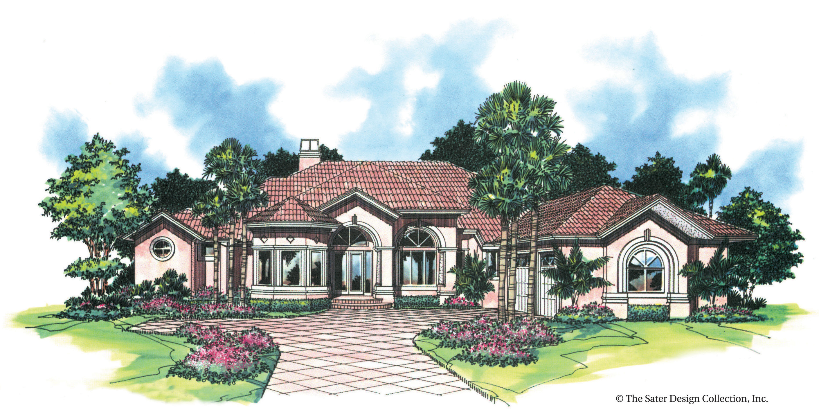 Ocala Spring Hill Lane Home Plan Nadeau Stout Custom Homes