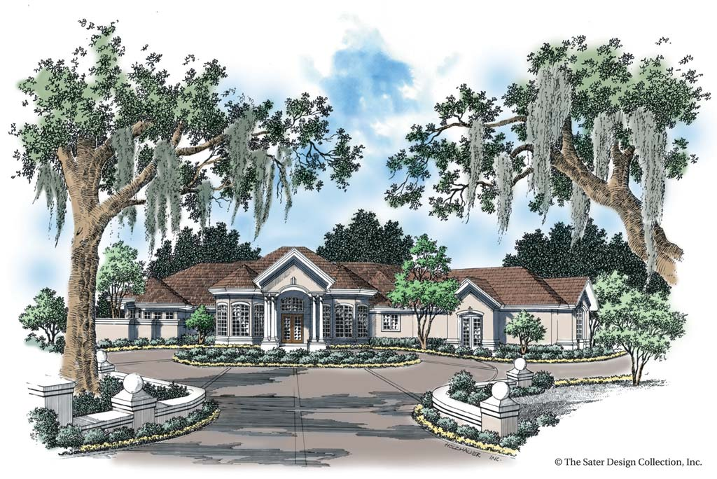 Governor 39 s club way home plan design ocala fl sater for Sater home designs