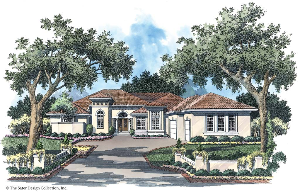 Plantation Pine Road Home Plan Ocala Sater Design By