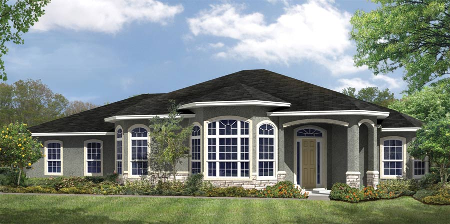 Madison Floor Plan Nadeau Stout Custom Homes Ocala Fl