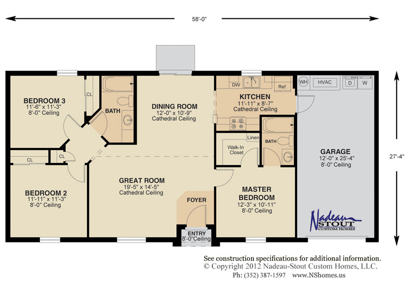 Split bedroom floor plans aeolusmotorscom split floor plan for Split bedroom floor plans
