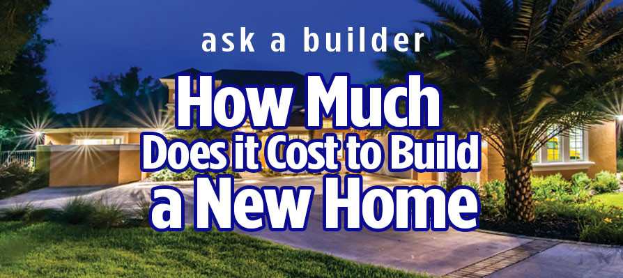 How much does it cost to build a new home in Ocala Florida & How much does it cost to build homes in Ocala Florida Marion County?